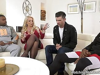 Alura Jenson fucks BBC in front of Stepson anal xxxvideo